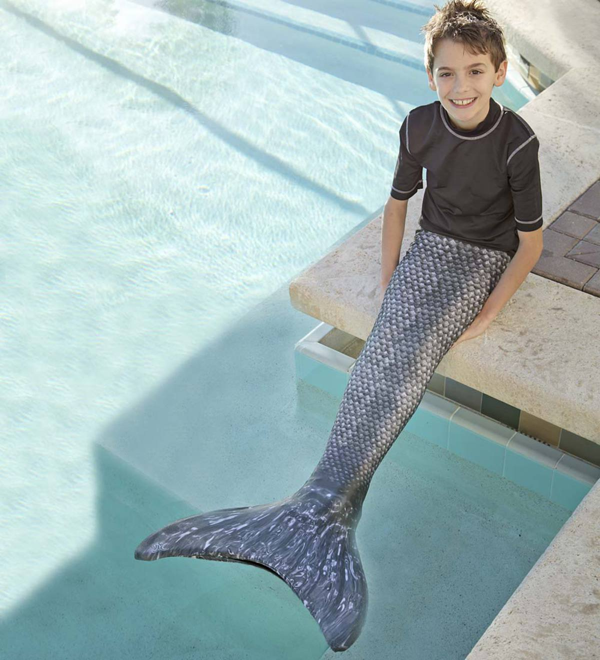 Mermaid Tail - Barracuda Black - 8  f7a6abd486ce