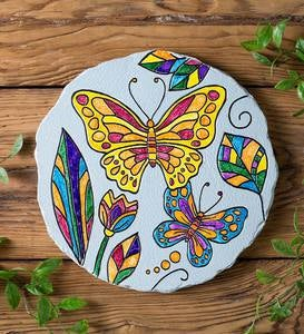 Color Pops® Color-Your-Own Garden Stone: Butterfly