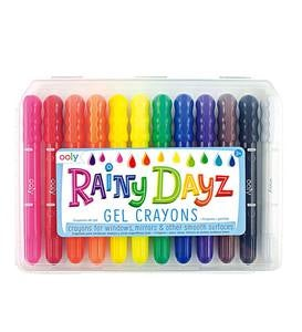 Rainy Dayz Gel Crayons (set of 12)