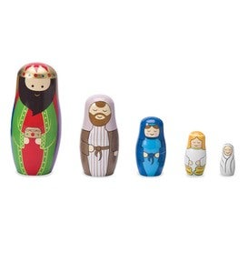 Nativity Nesting Doll Set