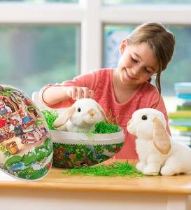 Easter Market Egg & Two Lop-Eared Rabbits Special