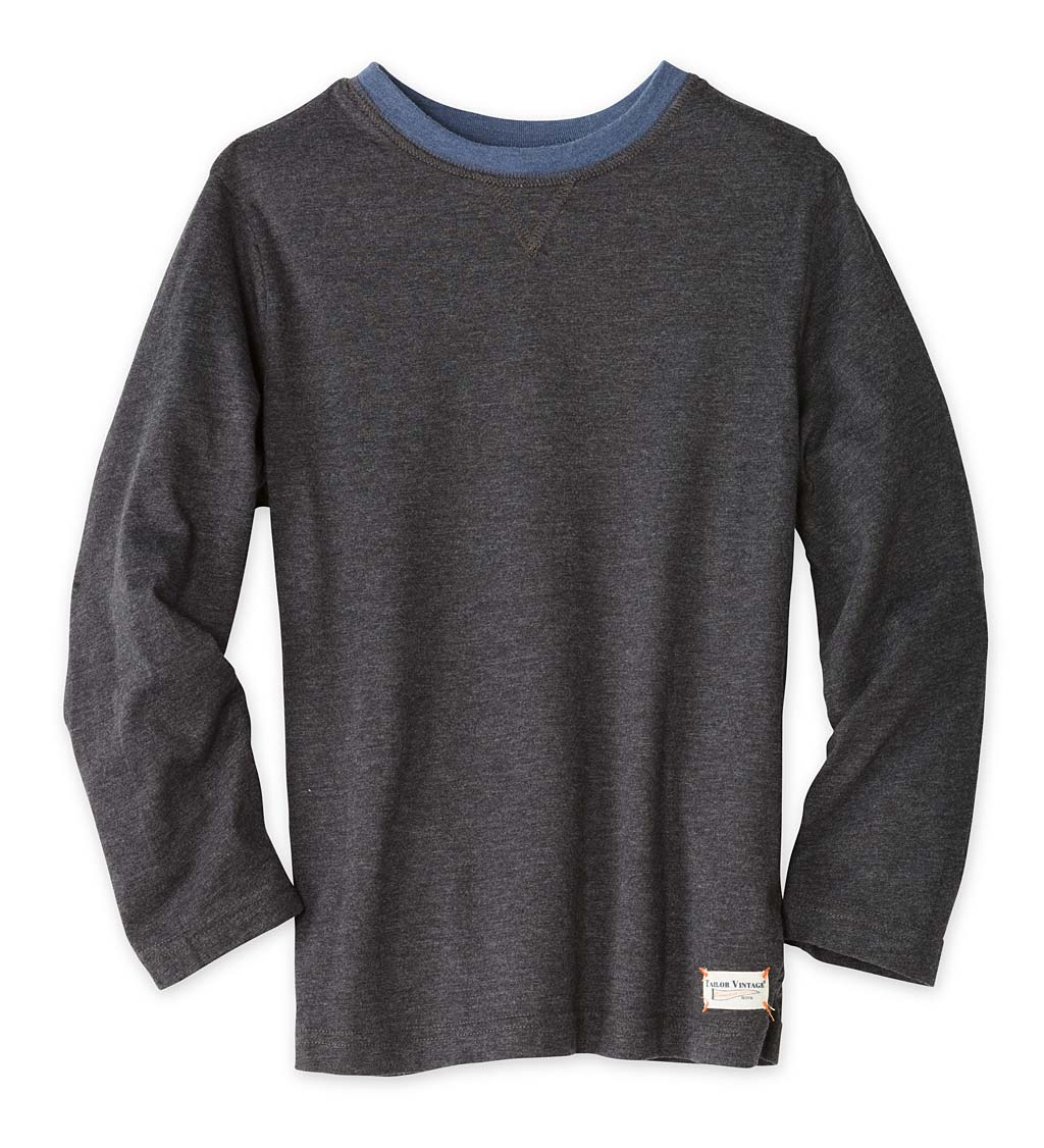Long-Sleeve Reversible Tee