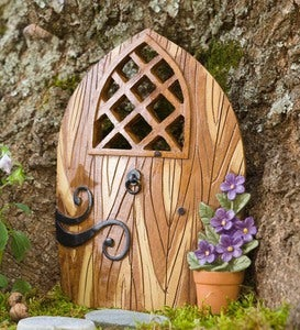 Fairy Garden Scroll Door