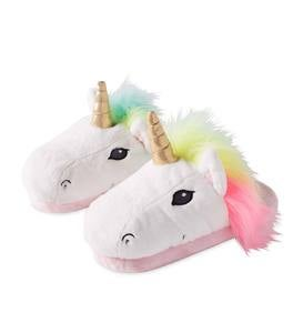 Kids' LED Light-Up Unicorn Slippers