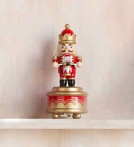 Soldier Holiday Nutcracker Music Box