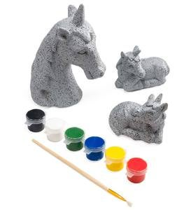 Color Pops® Paint-Your-Own Rock Pets: Unicorns