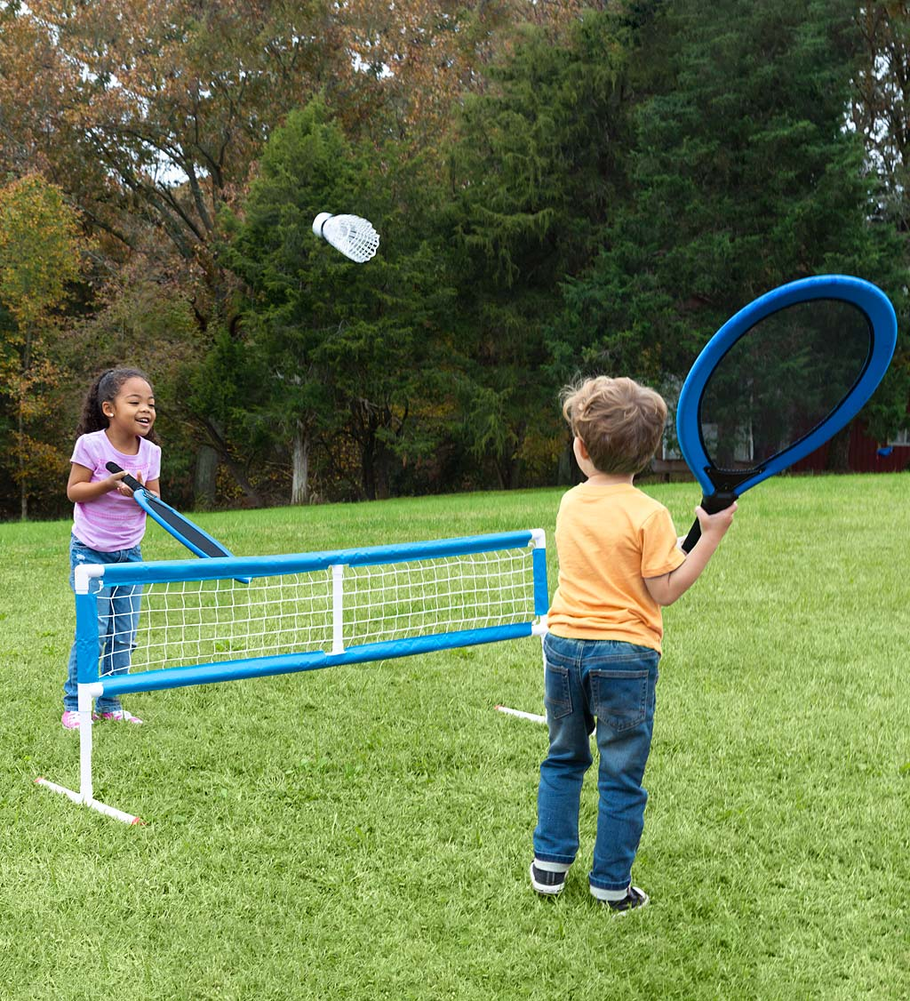 3-in-1 Game Set with Tennis, Badminton and Volleyball | Excluded from Delivery to Canada | Other | HearthSong