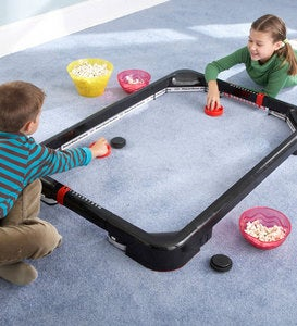 Simtec PowerBand Air Hockey Tabletop and Carpet Game