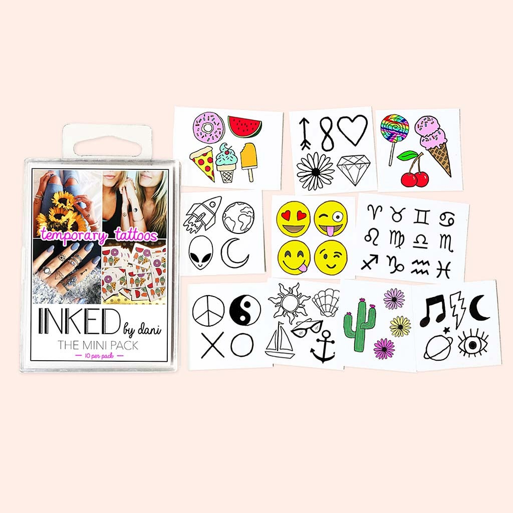 Mini Pack Tattoos