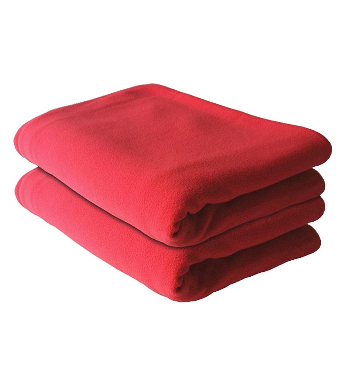 Shrunks® Fleecy Toddler Blanket - Red