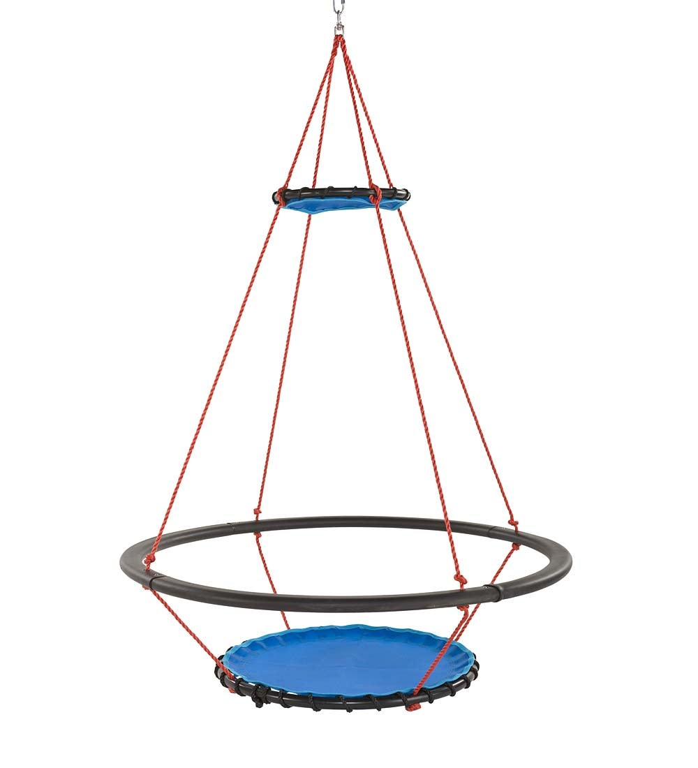 Vortex Spinning Ring Swing
