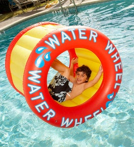 Water Wheel Inflatable Pool Float