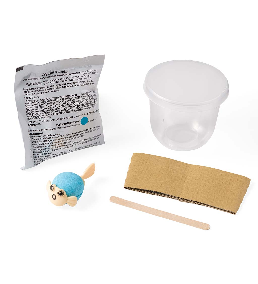 Grow Your Own Crystals Kit-Pufferfish