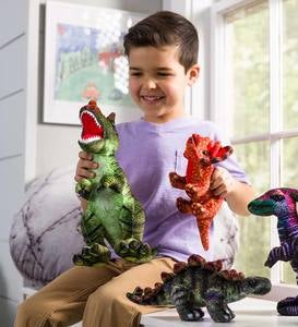 Plush Colorful Dino Collection