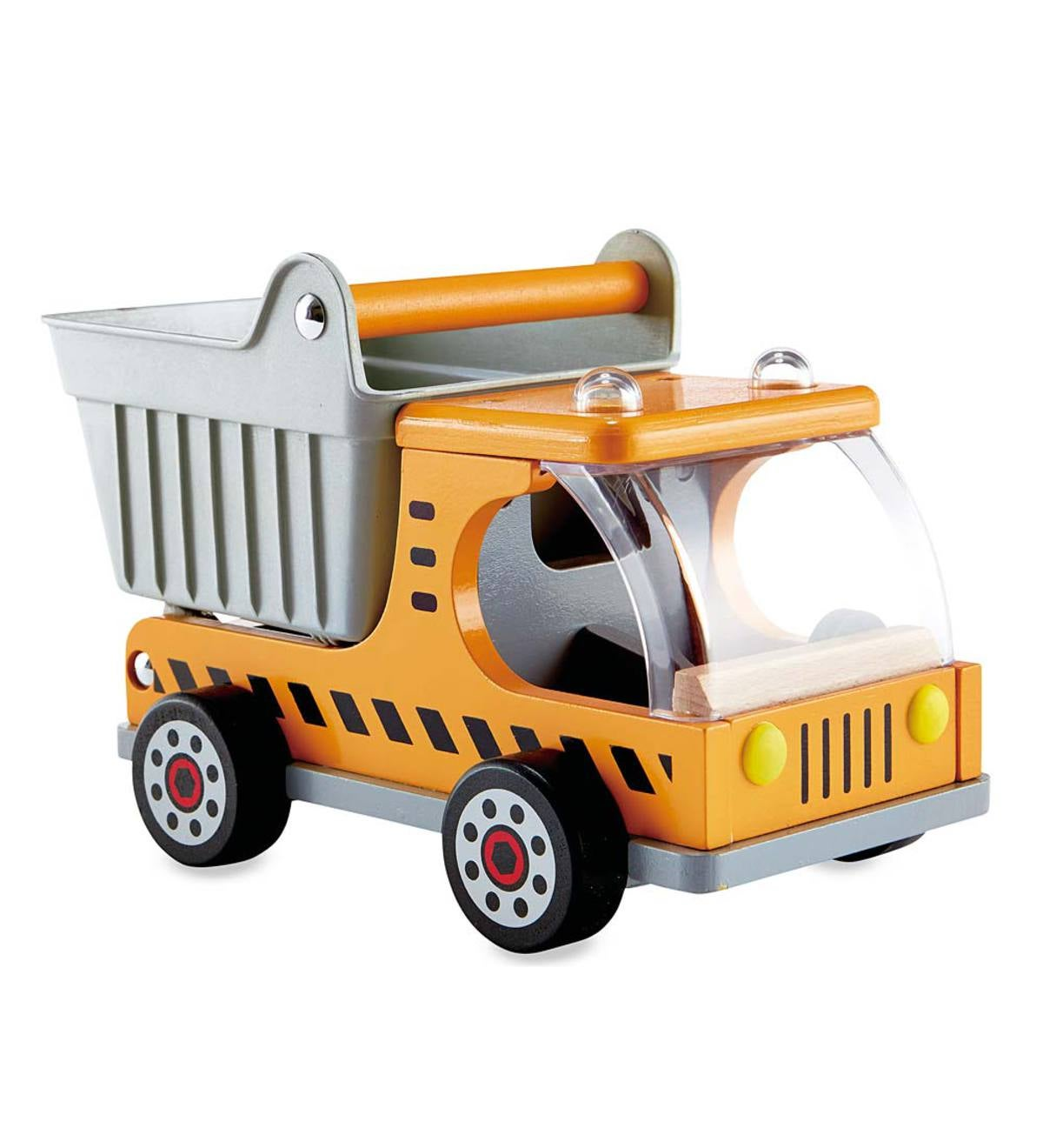 Mighty Wooden Construction Vehicles - Dump Truck
