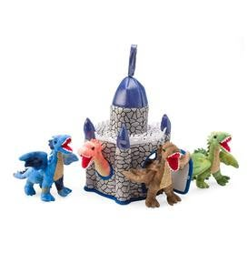 Plush Dragon Playset