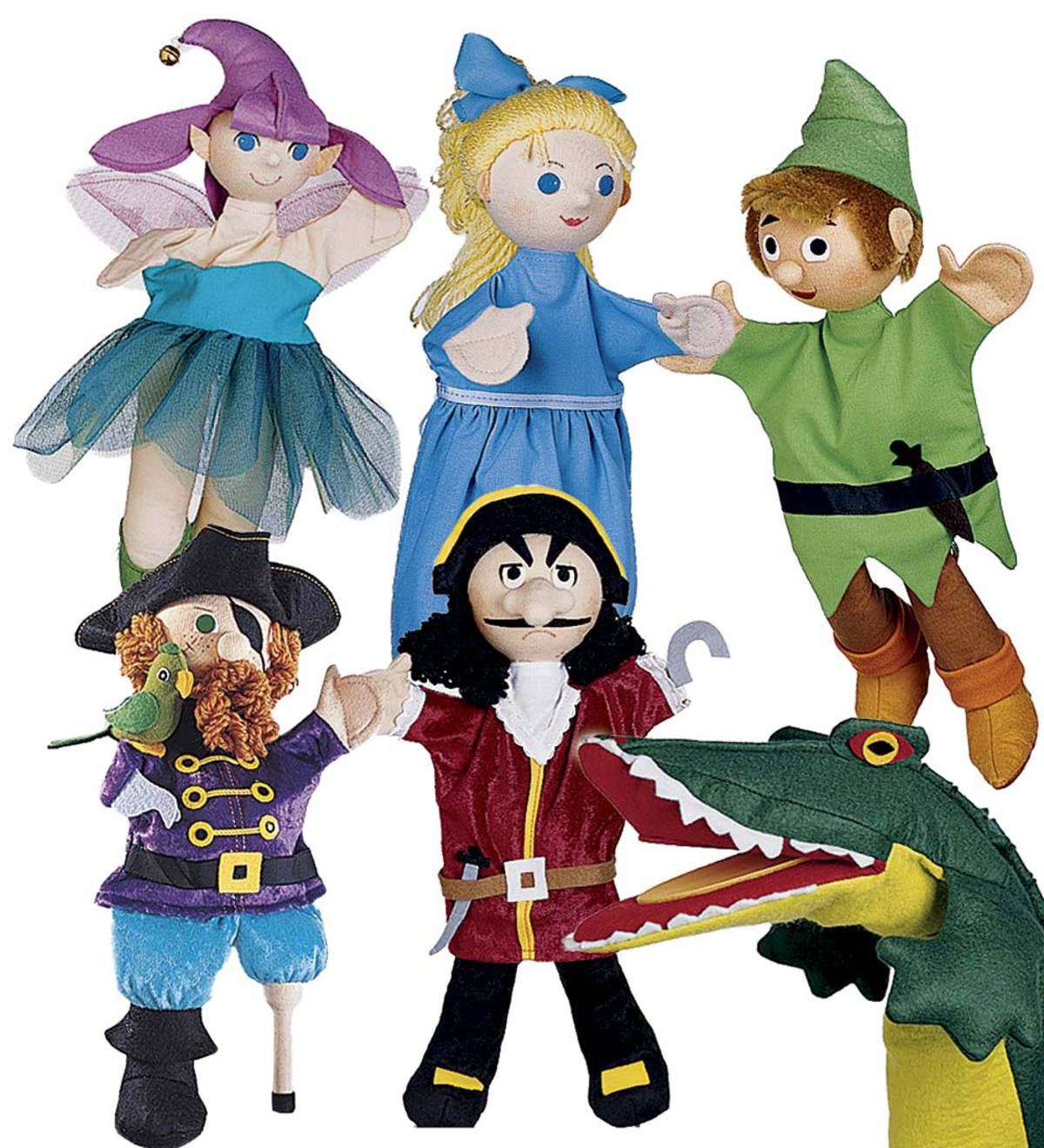 Set of 6 Costumed Puppets Special