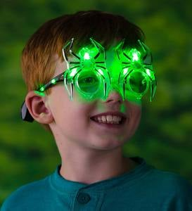 LED Spider Glasses