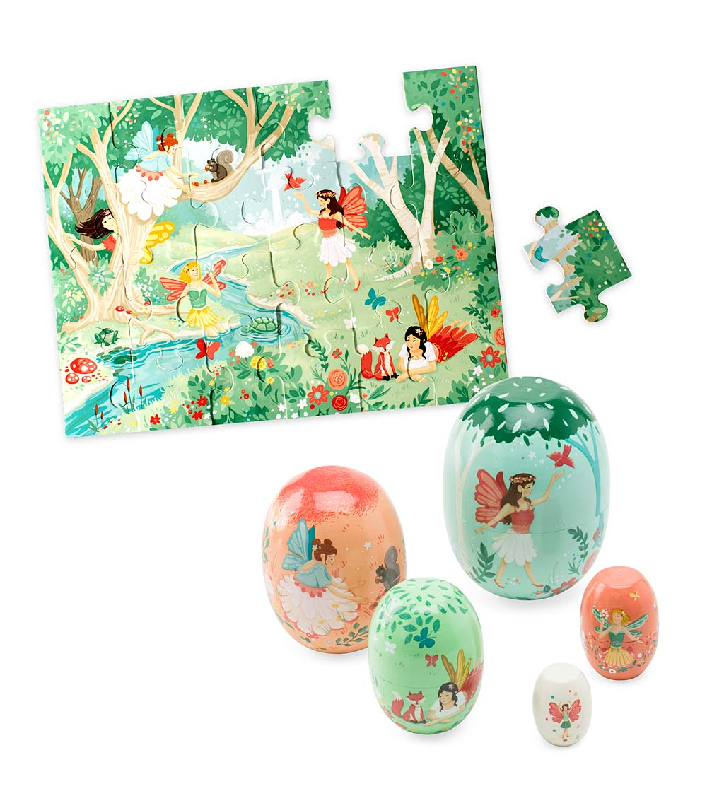 Fairy Puzzle and Fairy Nesting Set Special