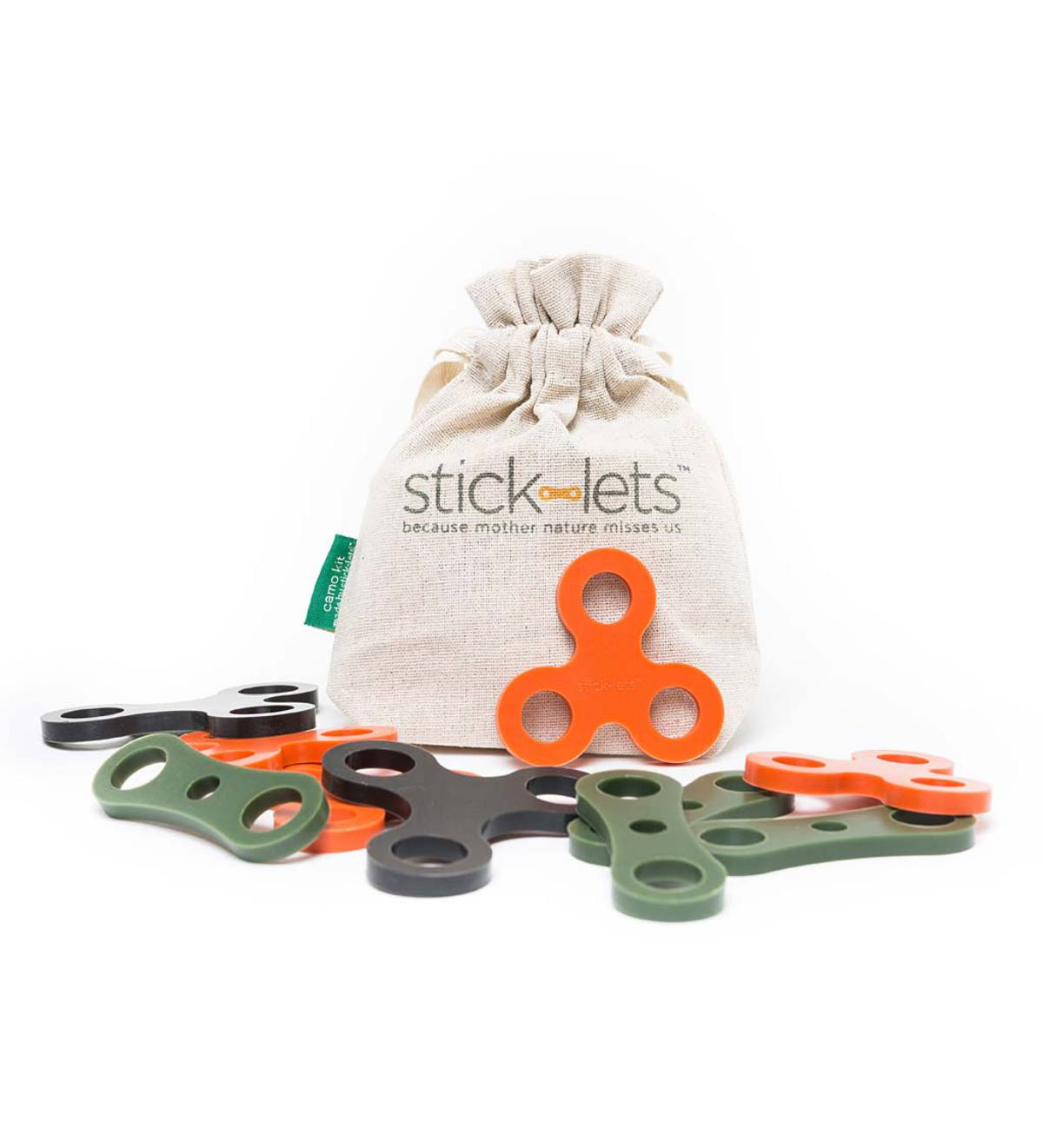 Stick-lets® Camo Set of 10