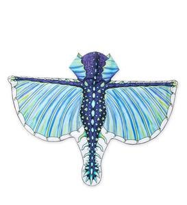 Dress-Up Fabric Dragon Wings - Frost Blue