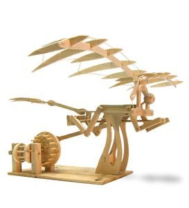 Leonardo da Vinci Ornithopter Model Kit