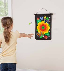 Double-Sided Magnetic Canvas Target Game - Woodland