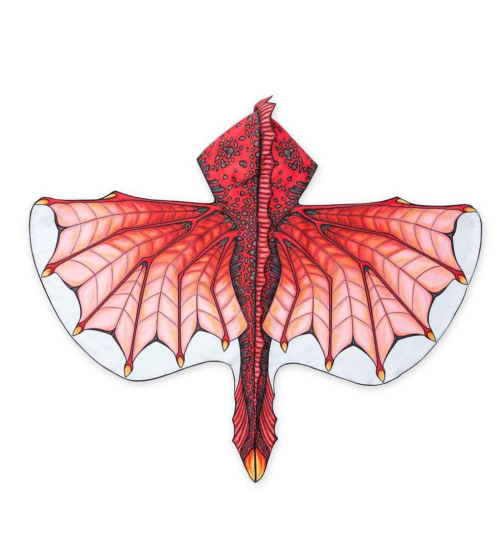 Dress-Up Fabric Dragon Wings