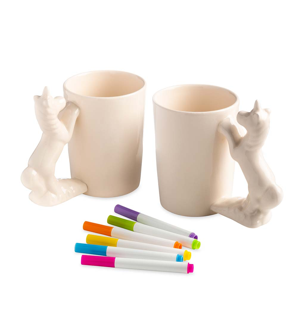 Color Pops Paint-Your-Own Character Mugs swatch image