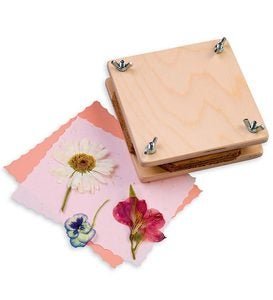 Cypress Wood Flower Press