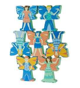 Wooden Stacking Fairies