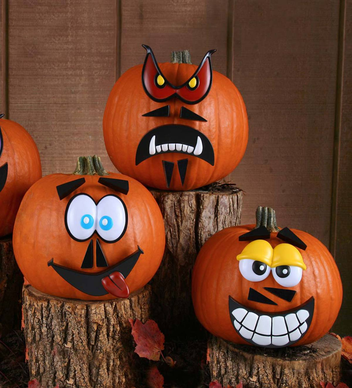 Pumpkin Face Pictures: Halloween Decorations For Kids