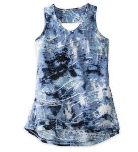 V-Neck Tie Dye Tank Top - MLT - 8