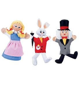 Alice in Wonderland Puppets - Alice