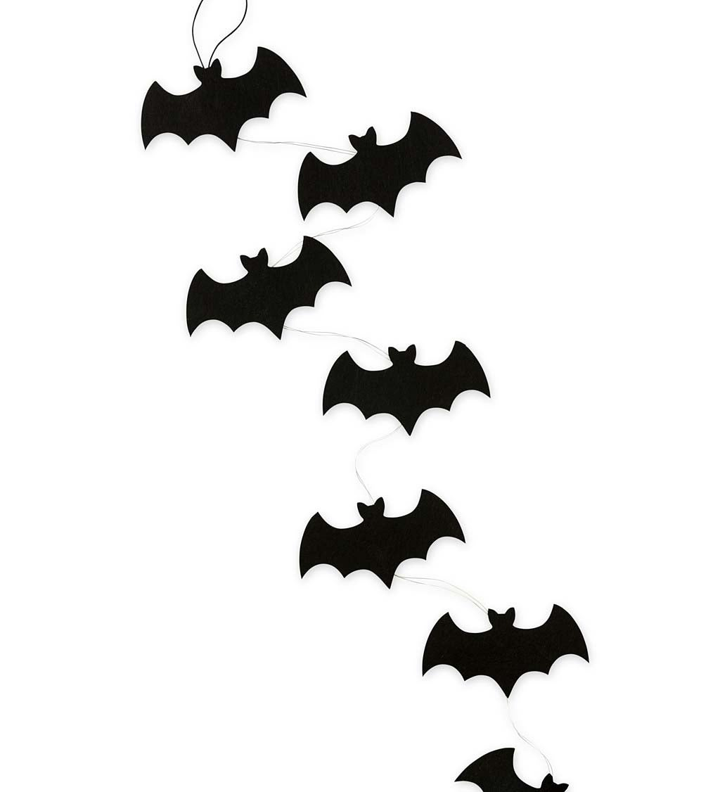 Light Up Bat Colony String Lights, Set of 2 Strands