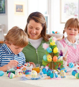 Deluxe Family Crafty Egg-Decorating Kit