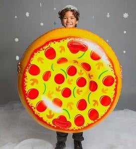 Supreme Pizza Snow Tube Sled