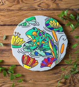 Color Pops® Color-Your-Own Garden Stone: Frog