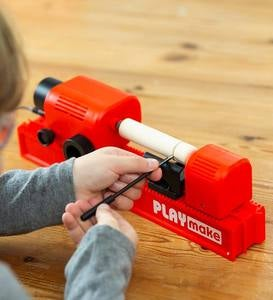 Playmake Cool 4-in-1 Woodshop Carpentry Tool