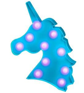 Blue Unicorn Marquee Light