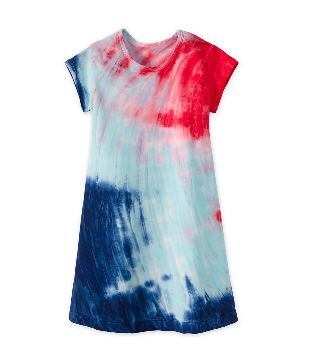Tie-Dye Cover-Up