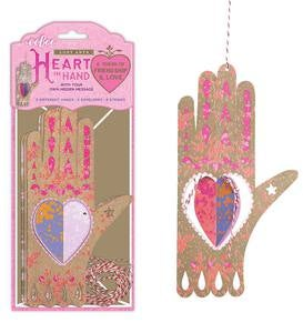 Heart in Hand Tokens (set of 3)