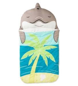 Dolphin Sleeping Bag With Carrying Case Hearthsong