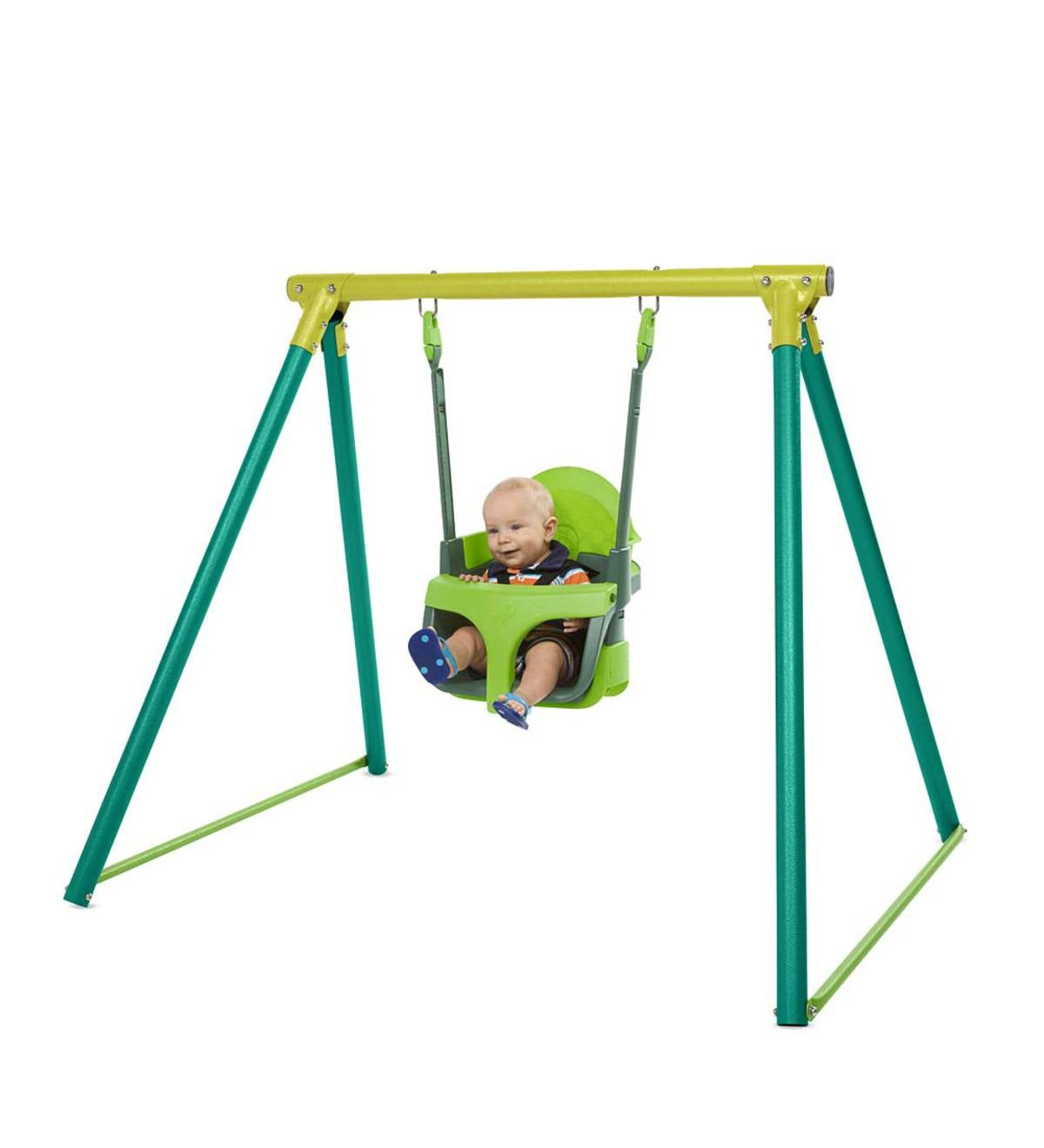 Quadpod Swing and Adjustable Swing Stand Special | Swings & Climbing ...