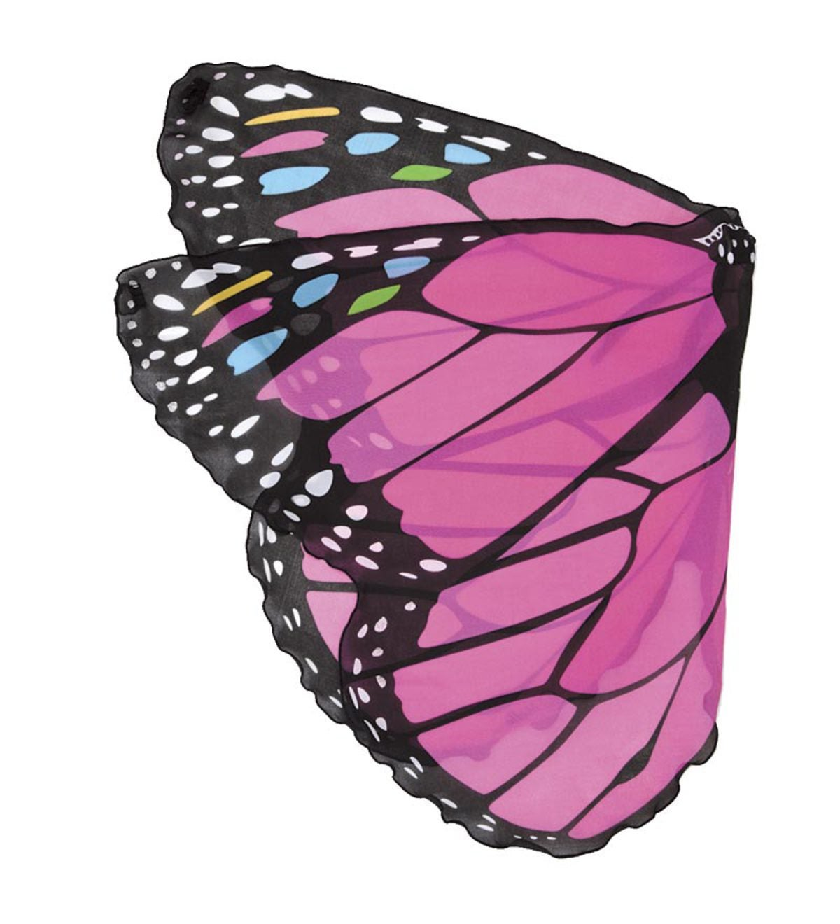 Pink Extra-Large Monarch Wings - Pink