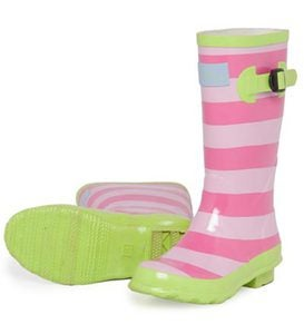 Hatley Pull-On Splash Boots for Girls - 01