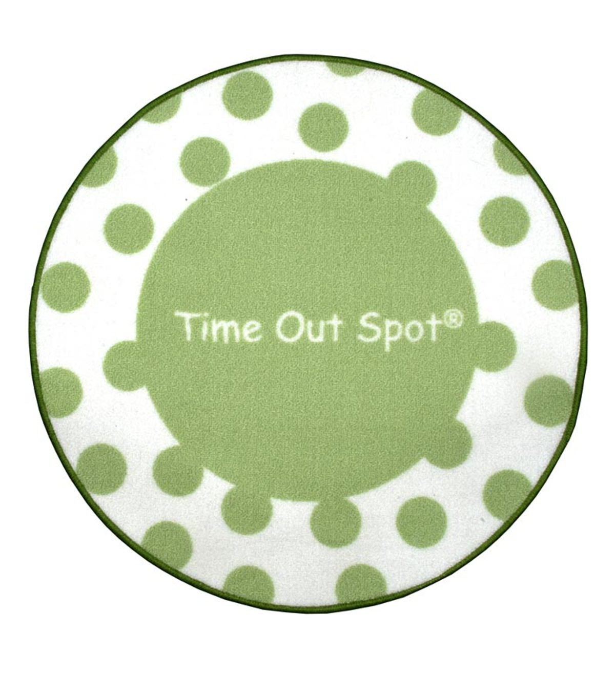 Time Out Spot Rug - Green