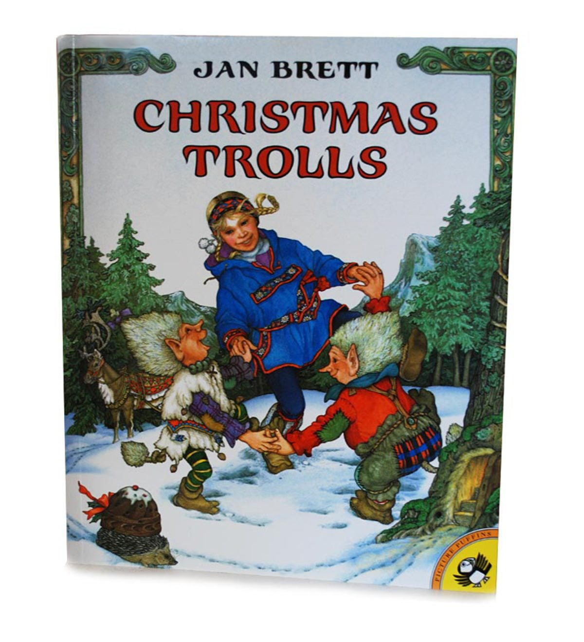 Christmas Trolls Classic Picture Book by Jan Brett