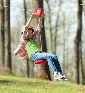 80-Foot Red Zipline Kit