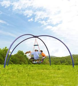Vortex Spinning Ring Swing™ and Sky Dome Arched Stand™ Special